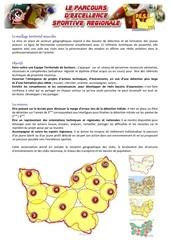 pes regional presentation secteurs masculins 2013