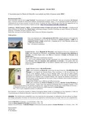 programme janvier fevrier 2014