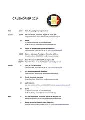 cal ffve 2014
