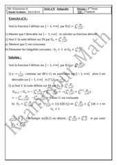 Fichier PDF integrale bac math corrige ex n 4 ex n 5