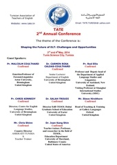 tate conference call for papers