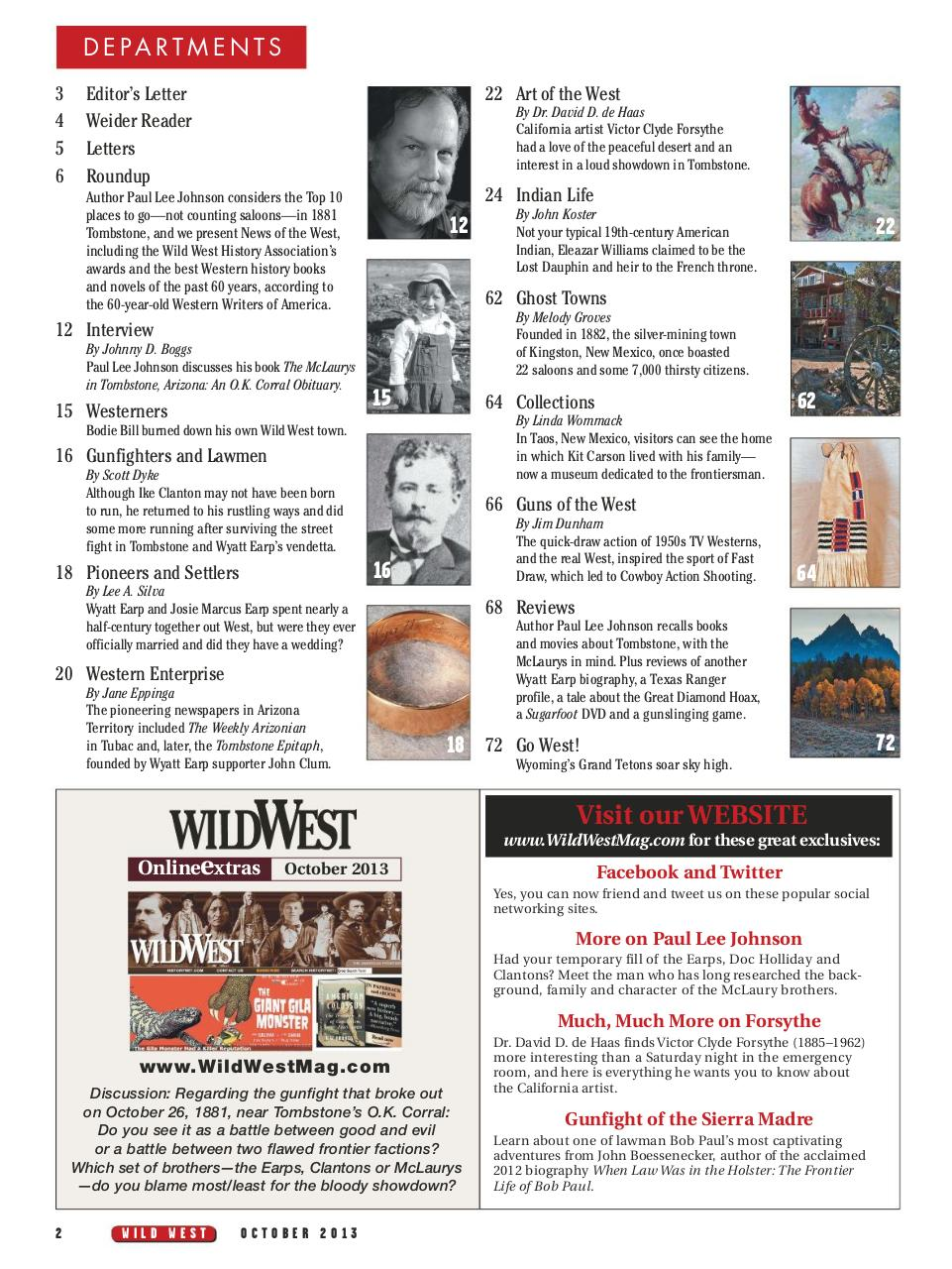 Wild West - October 2013.pdf - page 4/76