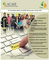 catalogue des formations acafe du groupe samir 2014