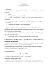 cours de chimie analytique chapitres v et vi