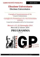 elezzione universitarie 2014
