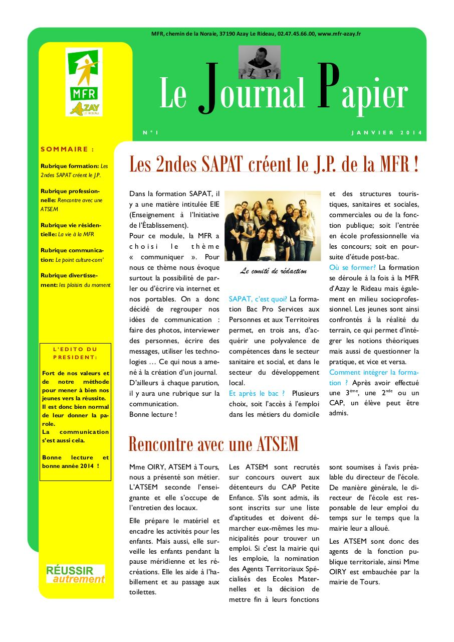 Journal Papier d'Azay.pdf - page 1/2