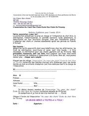 bulletinadhesion2014 1