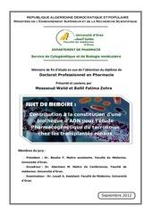 pharmacogenetique du tacrolimus