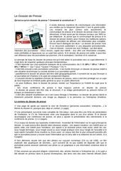 2011 05 09 le dossier de presse