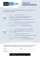 Fichier PDF charte waterguardian