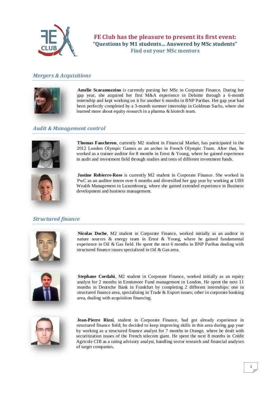 Mentor profile Booklet par apple - Fichier PDF