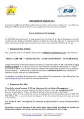 reglement mx kids 2014