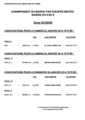 convocations chpts mixtes 2014