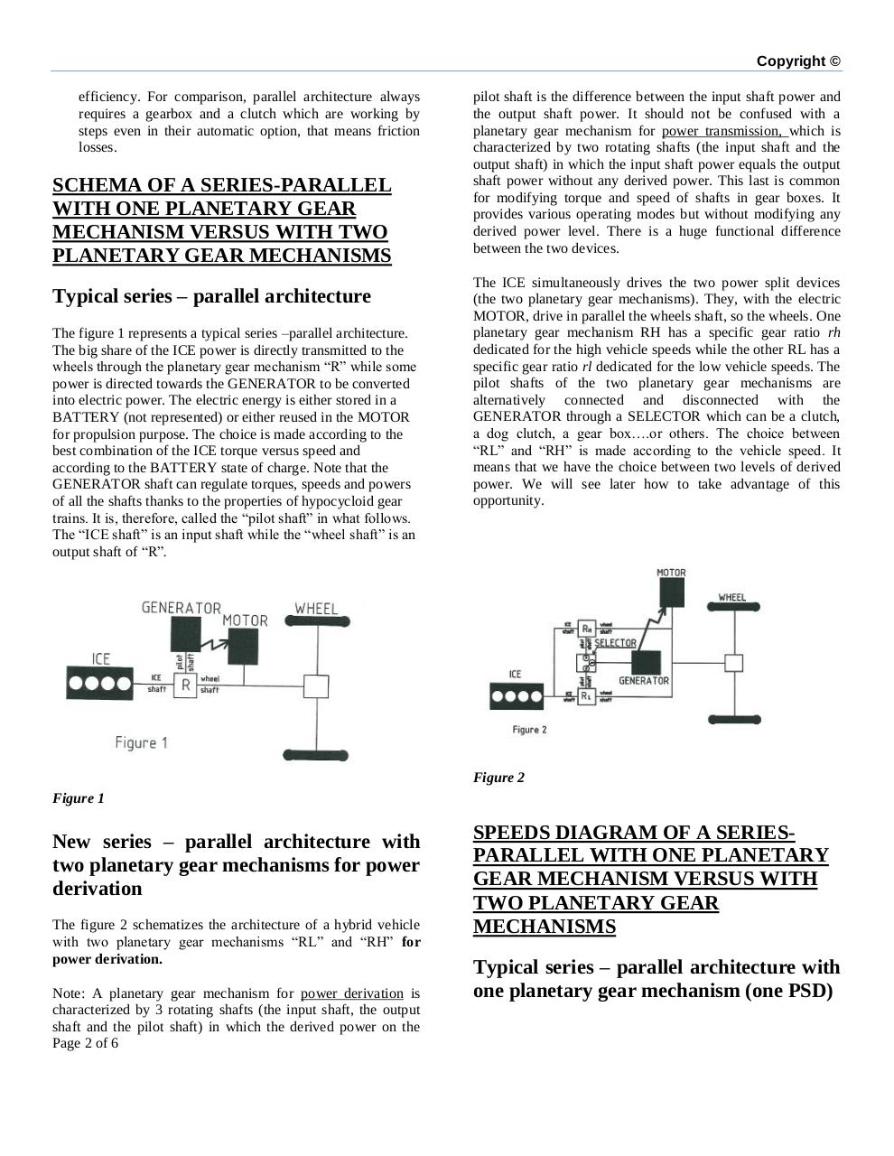 Double power split device for hybrid vehicle powertrain .pdf - page 2/6