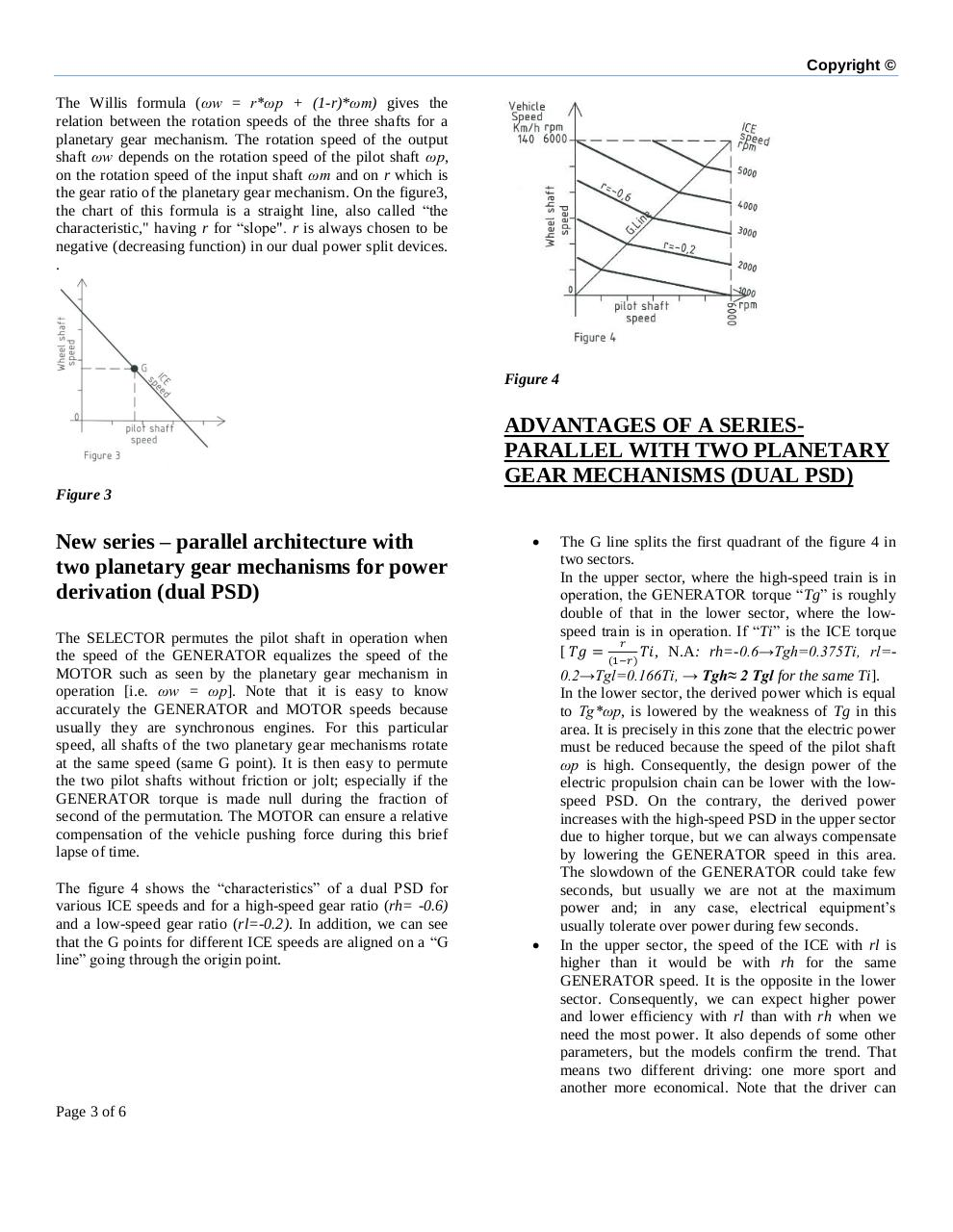 Double power split device for hybrid vehicle powertrain .pdf - page 3/6