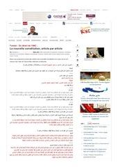 en direct la nouvelle constitution article par article directinfo