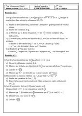 Fichier PDF serie etude de fonctions bac informatique