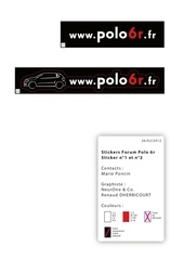stickers polo6r 1