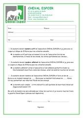 formulaire inscription membre ce
