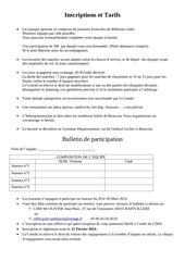 Fichier PDF inscriptions et tarifs 2014