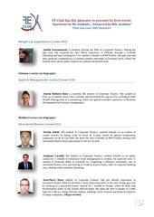 mentor profile booklet