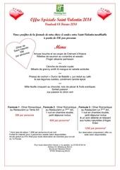 2014 offre speciale saint valentin format a4