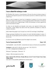 Fichier PDF cours collectif de technique vocale