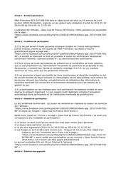 reglement jeux concours open sud de france 2014