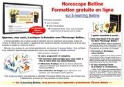 cours gratuits horoscope belline