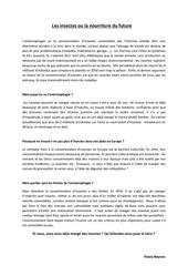 articles sur l entomophagie flavia