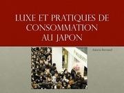 luxe et pratiques de consommation au japon