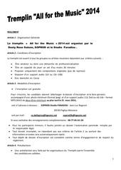 reglement dossier d inscrip tremplin jeunes2014