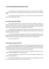 Fichier PDF resume du match