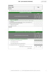 fsme questionnaire 2013