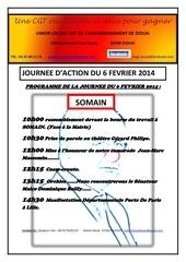 programme journee du 6 fevrier 2014