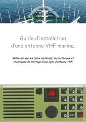 guide d installation d une antenne vhf marine version 4