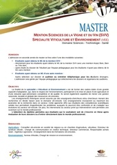 informationmaster2 viticulture et environnement