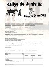 invitation rallye 2014 2