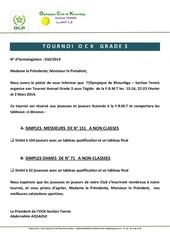 Fichier PDF circulaire tournoi grade 3 ock 2014