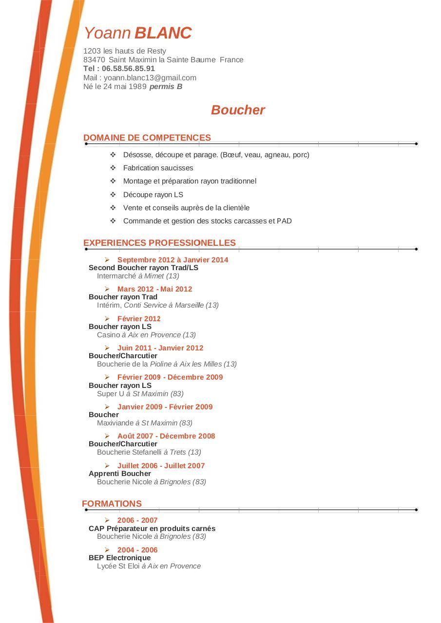 cv blanc yoann docx par mandite - cv blanc yoann pdf