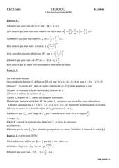 exercices ln 4e math