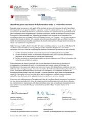 f academies manifeste suisse recherche ouverte 1