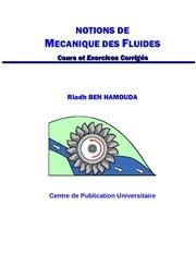 notions mecanique des fluides