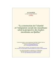 construction ismamite qc