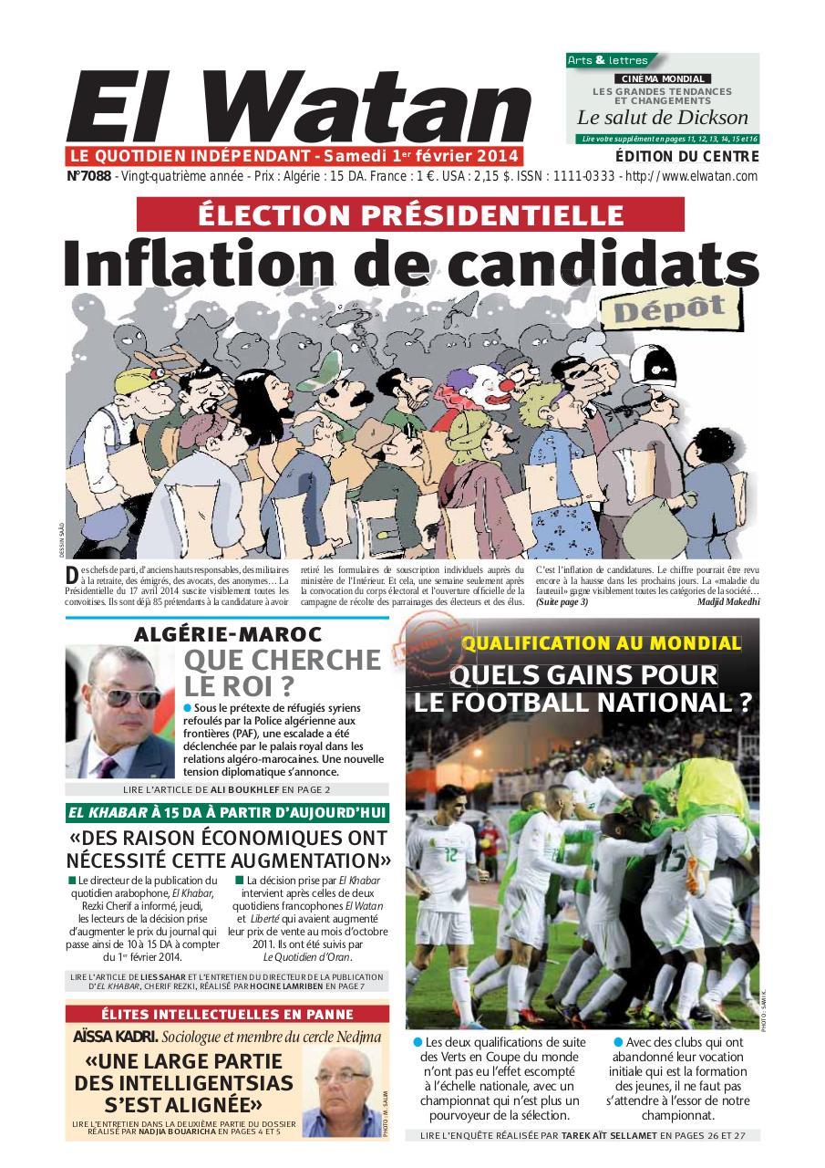 le quotidien el watan pdf