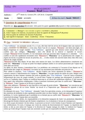 examen management 2013 2014