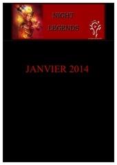 night legends janvier 2014