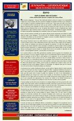 rwanda geopolitique Edition numEro 002