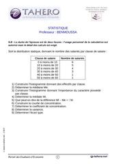 4management exams de statistiques