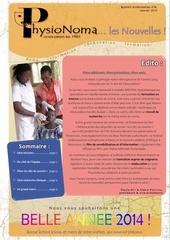 bulletin physionoma n 18 janvier 2014